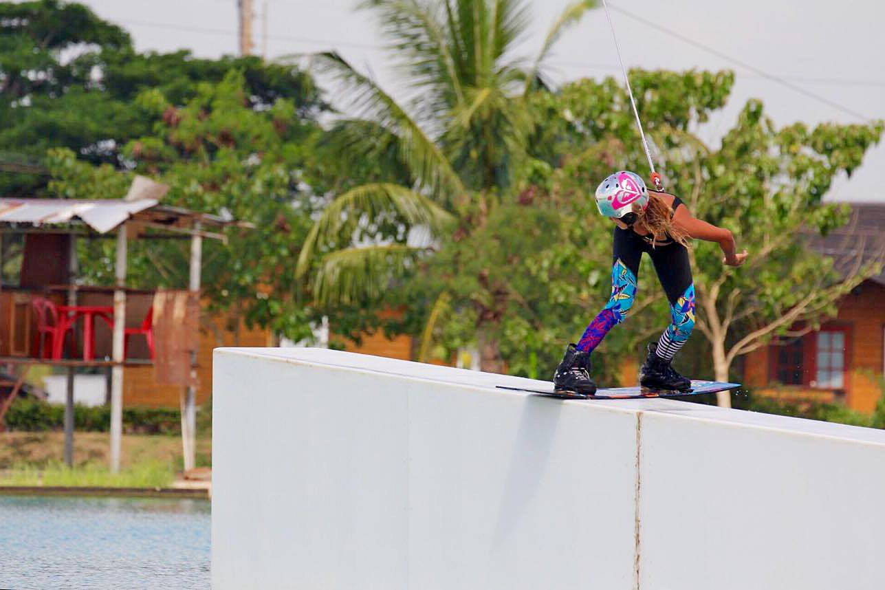 wakeboarding CWC girl