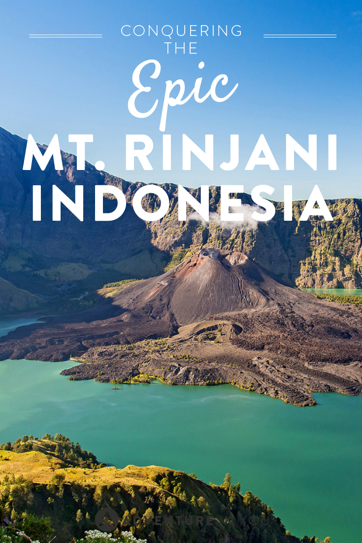 Looking for an epic adventure? Challenge yourself and climb the famous Mt. Rinjani in Indonesia.
