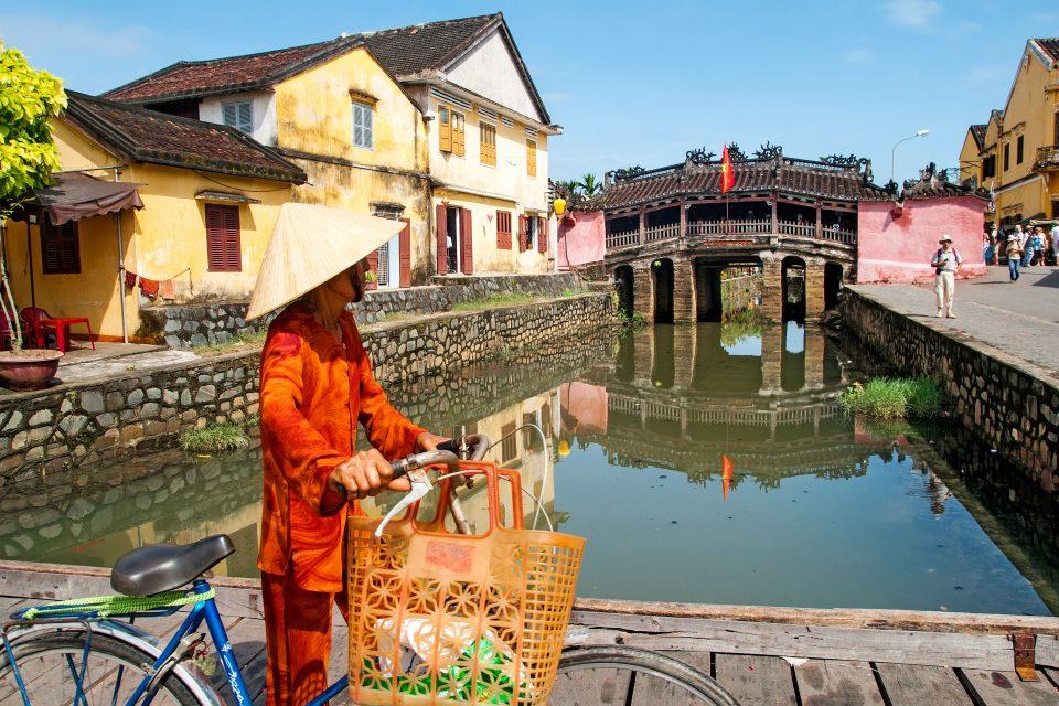 Vietnam man on bike