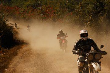 motorbiking laos