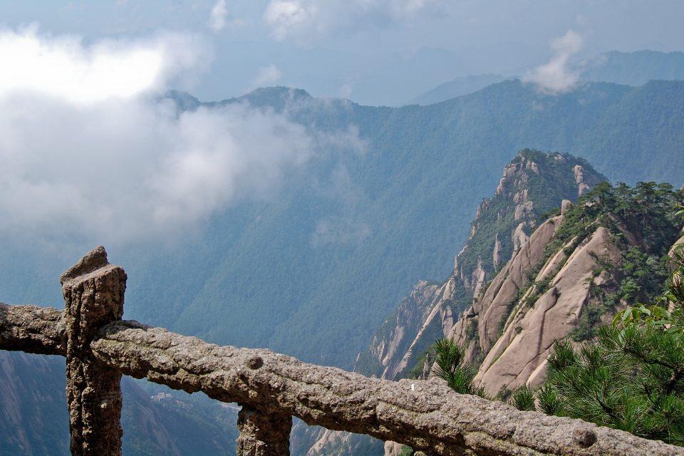 mountain china hushan trekking
