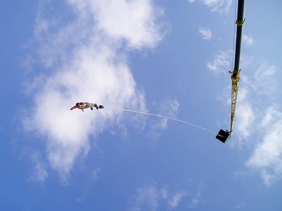 bungee jumping cheongpung