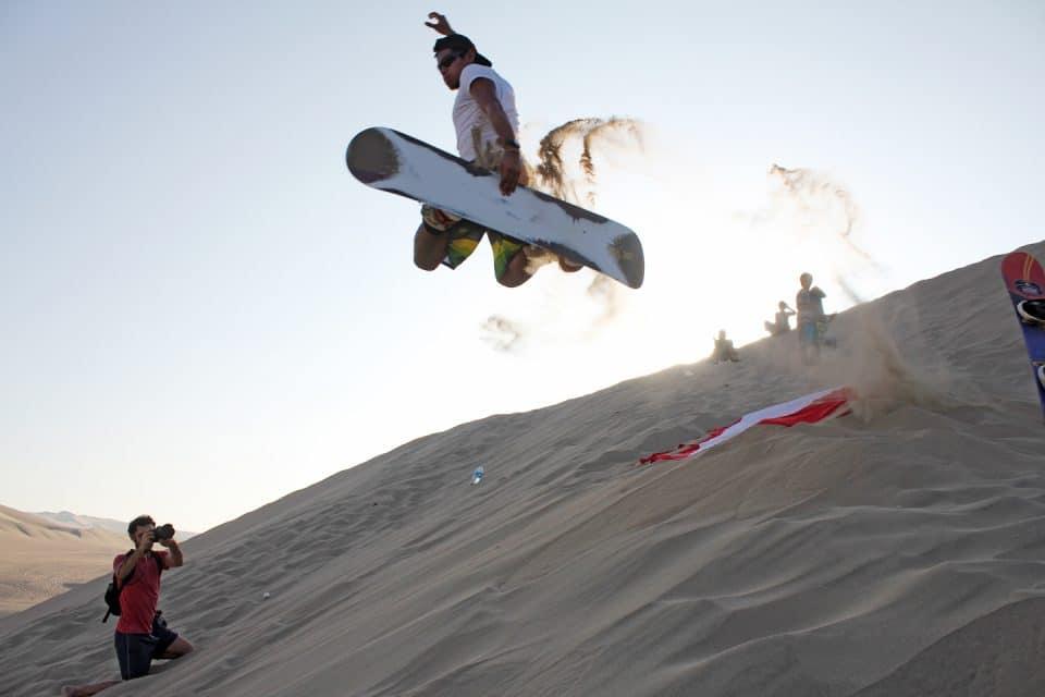 Sandboarding in Asia