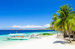 Perfect beach in the Philippines