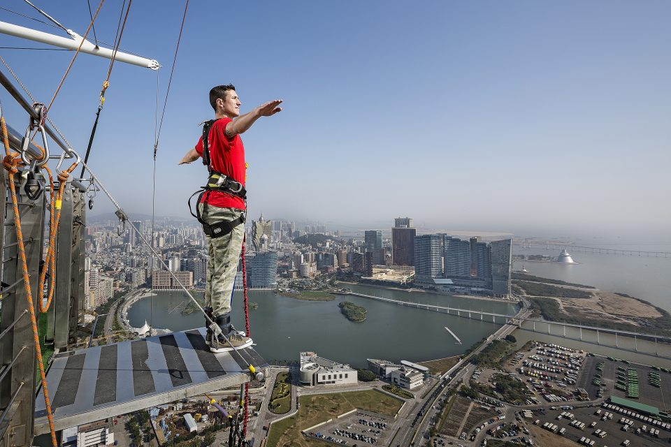 Bungee jump in Macau