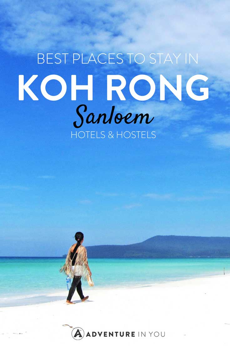 Koh Rong Sanloem Cambodia | Looking for the best place to stay while in Koh Rong Sanloem, Cambodia? Here are our recommendations