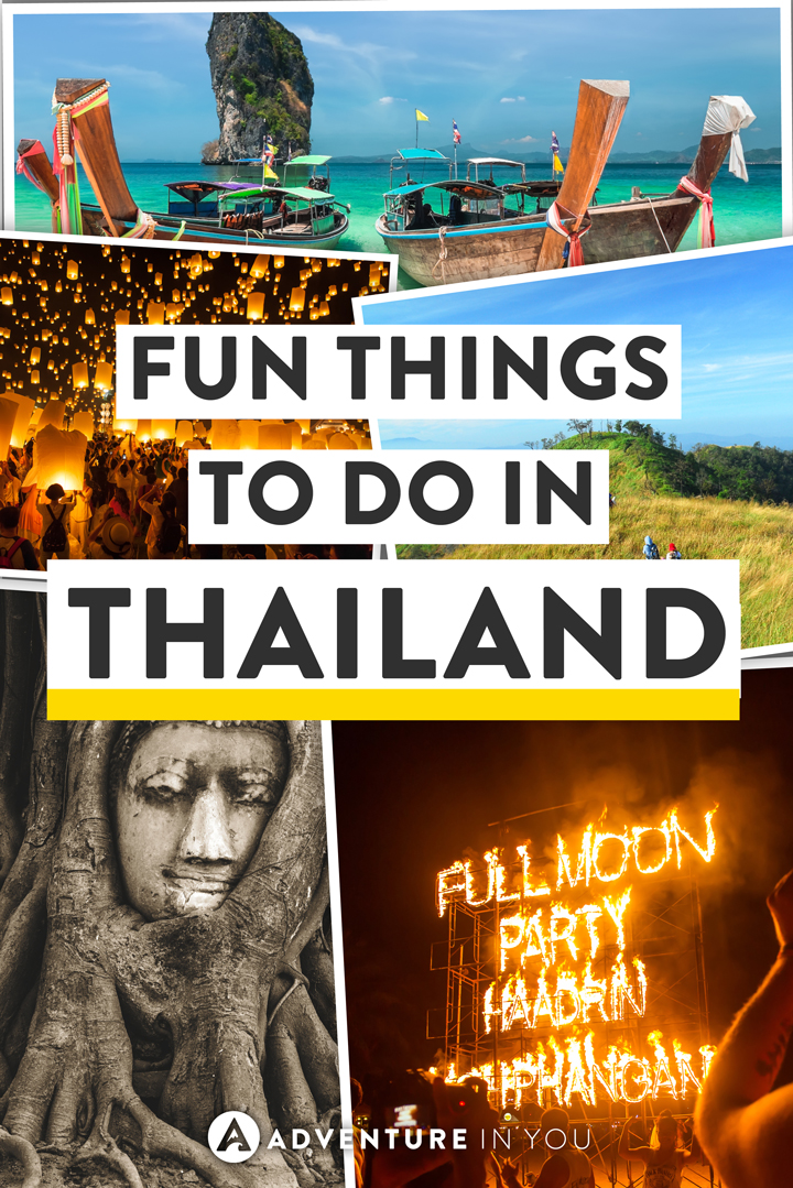 Thailand Travel | Looking for things to do in Thailand? Here are our top picks from island hopping, best beaches, parties, and more.