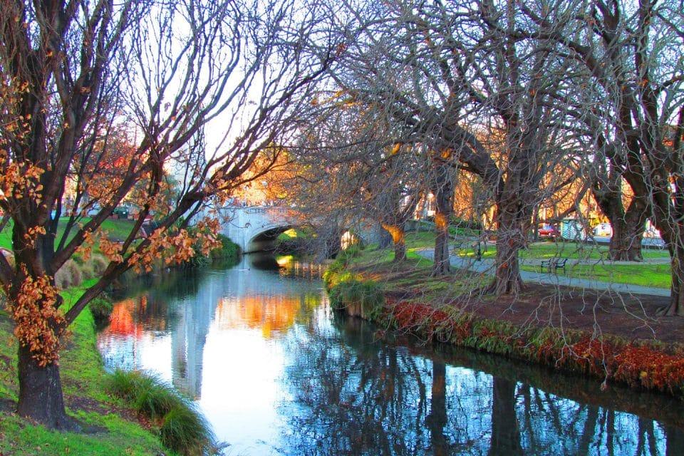 A lake in Christchurch