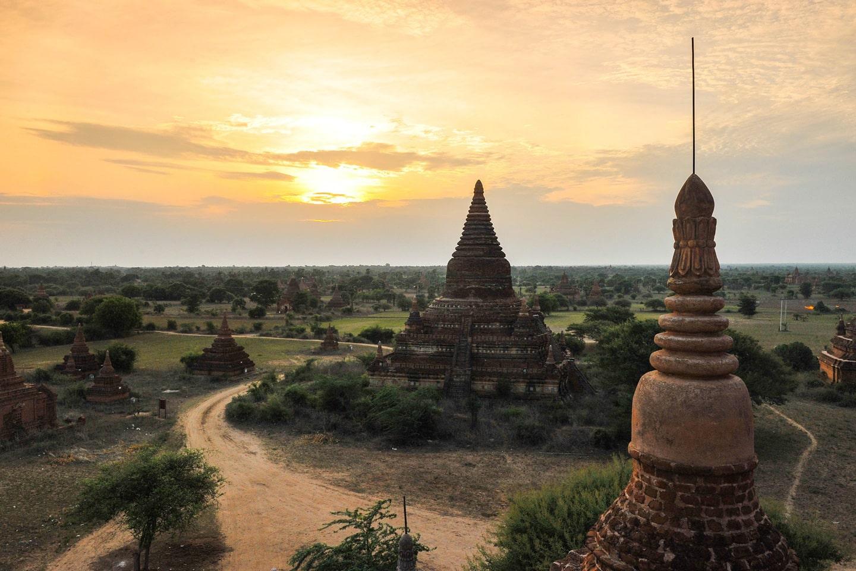 Pagoda at Bagan Myanmar