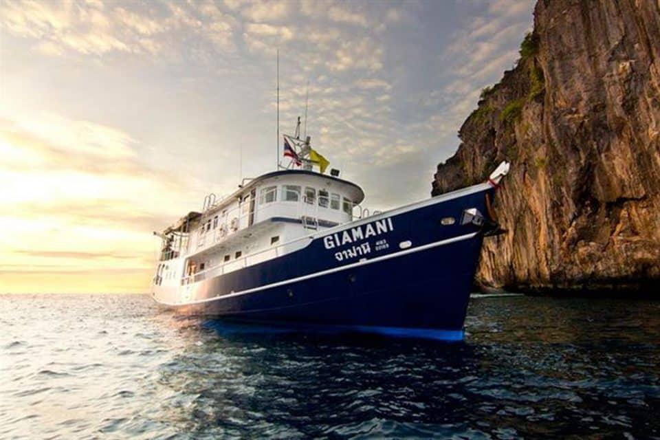 giamani liveaboard similan islands