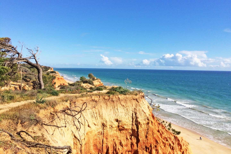 Albufeira portugal beach