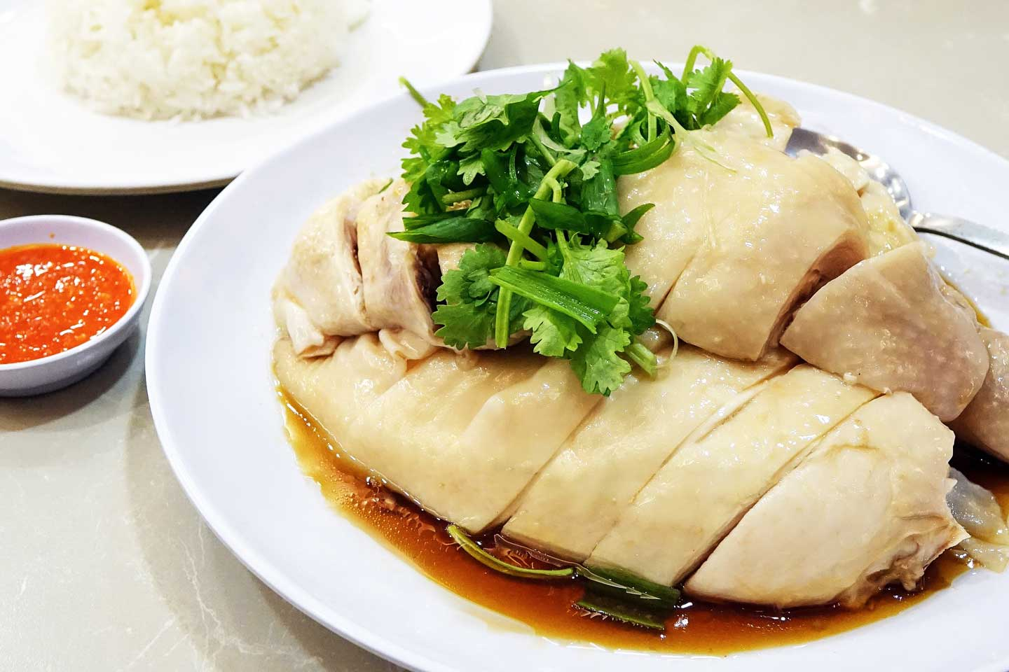 hainanese chicken Singapore