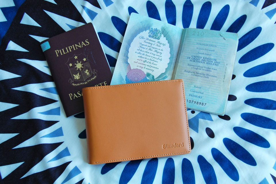 standard-luggage travel wallet