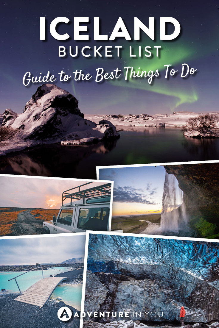 Iceland Travel | Looking to travel to Iceland? Here is a complete bucket list of things you can't miss out on while in Iceland