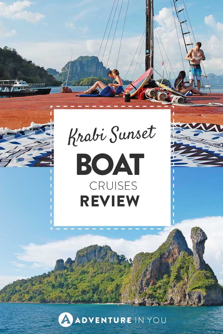 Krabi Thailand | Heading to Krabi? Don't miss out on an afternoon of fun with the guys over at Krabi sunset cruises.