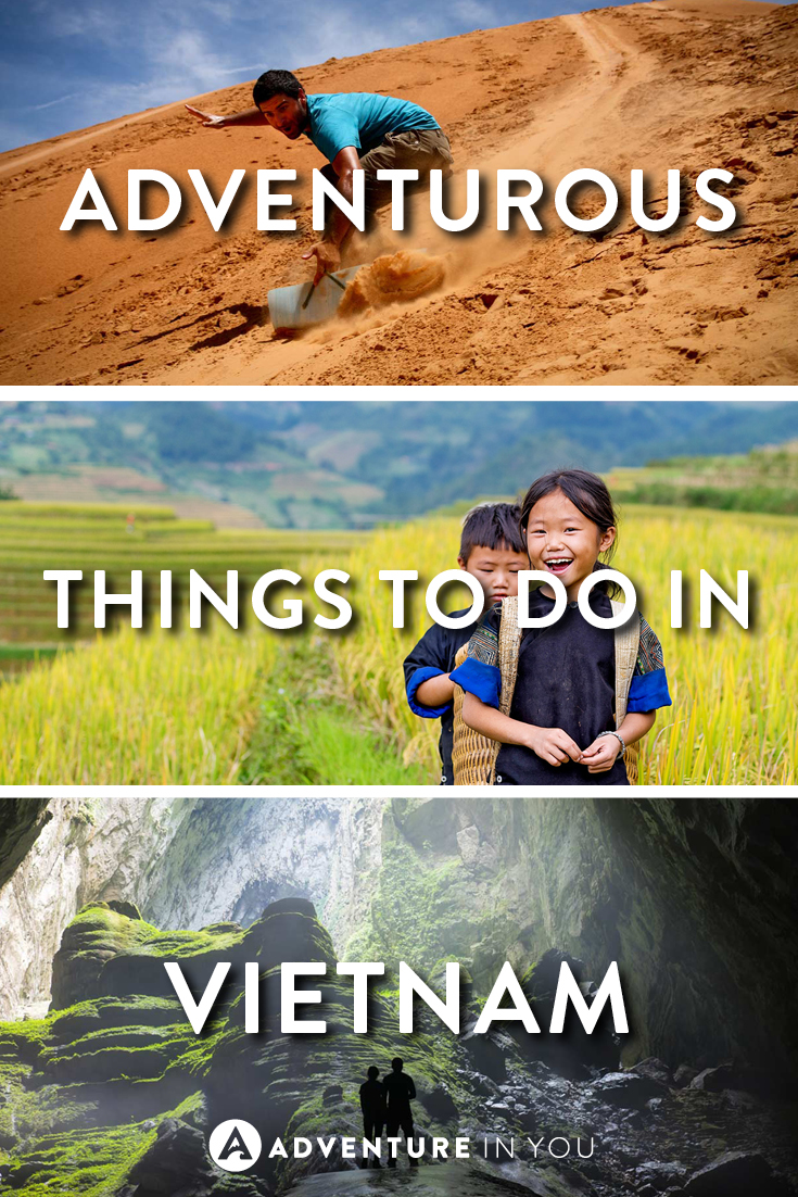 Vietnam Travel | Looking for adventurous things to do while in Vietnam? Here is our ultimate list of activities that are musts while in the country!