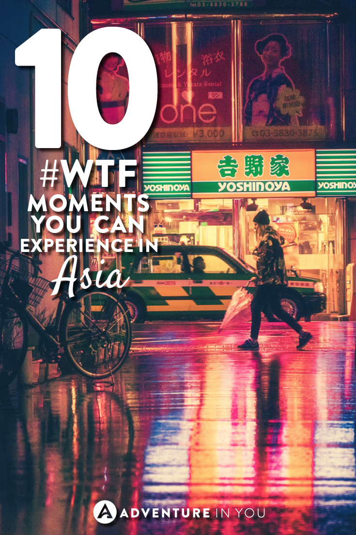 Asia Travel | Check out this list of unbelievable WTF moments that you can experience in Asia