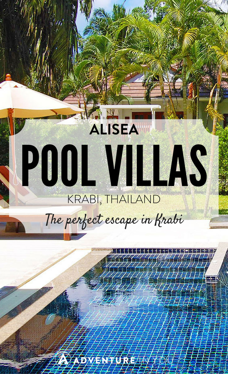 Krabi Thailand | Looking for an exclusive getaway in Krabi? We recently stayed in Alisea Pool Villas and had a relaxing two days enjoying their private and luxurious villas