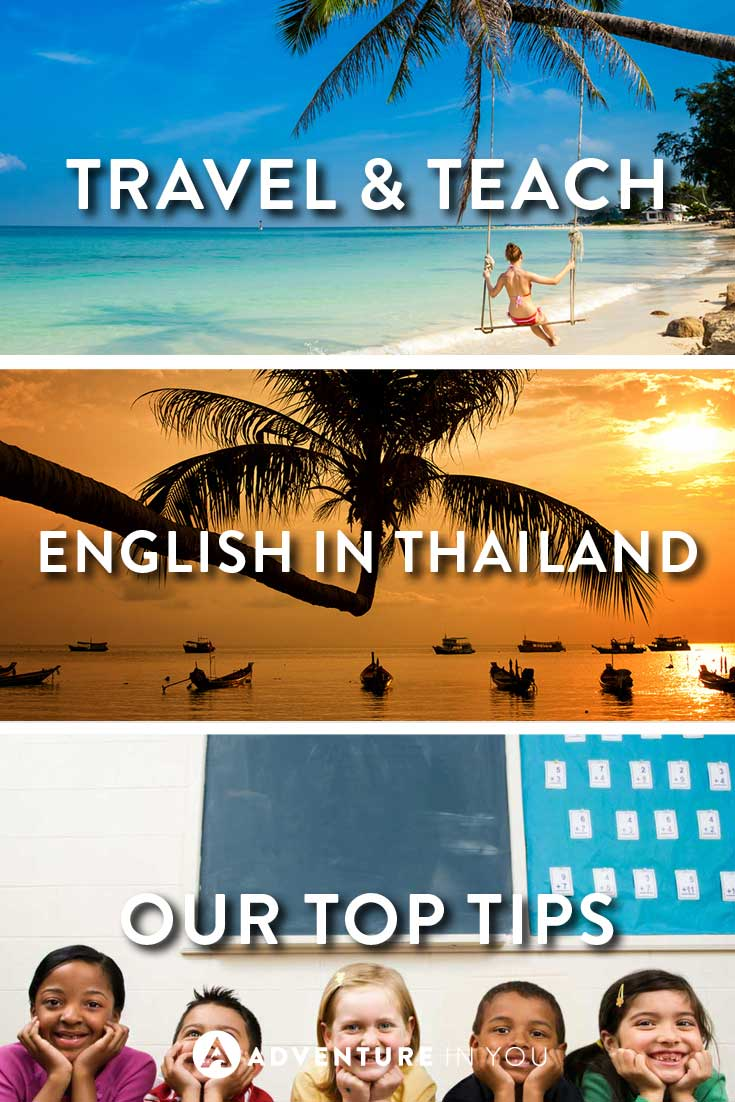 Teaching English | Planning to teach English in Thailand? Here's some useful tips and advice on how to get a job, where to apply, and what to do.