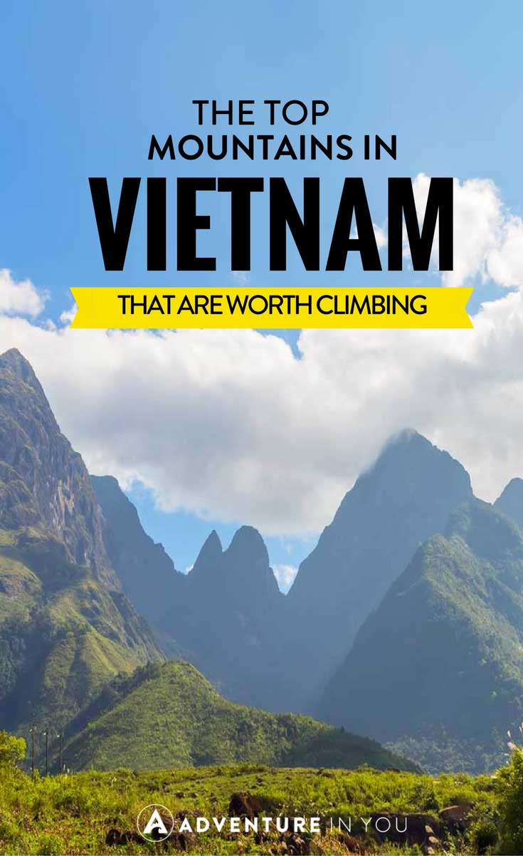 Vietnam Travel | Looking to climb a few mountains in Vietnam while traveling? Here are a few of our top picks for best mountains to climb