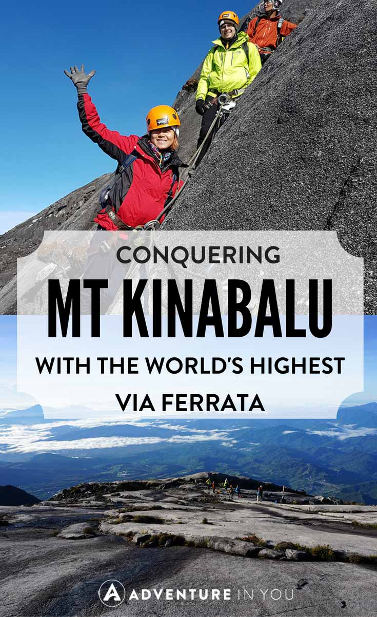 Mount Kinabalu | Looking to climb Mount Kinabalu in Malaysia? Why not take on the via Ferrata and test yourself through this challenging mountain trail.