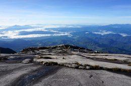 kinabalu mountain view