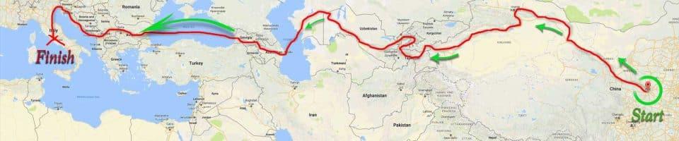 silk walk map