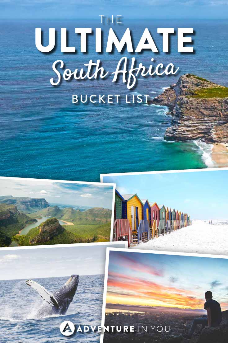 South Africa | Heading to South Africa? Here is our ultimate Bucket list to inspire you to make the most out of your trip!