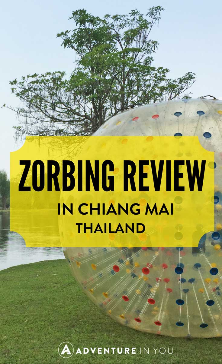Things to do in Chaing Mai Thailand | Interested in Zorbing while in Chiang Mai? Check out our review of how we rolled down the hill with this giant zorb ball