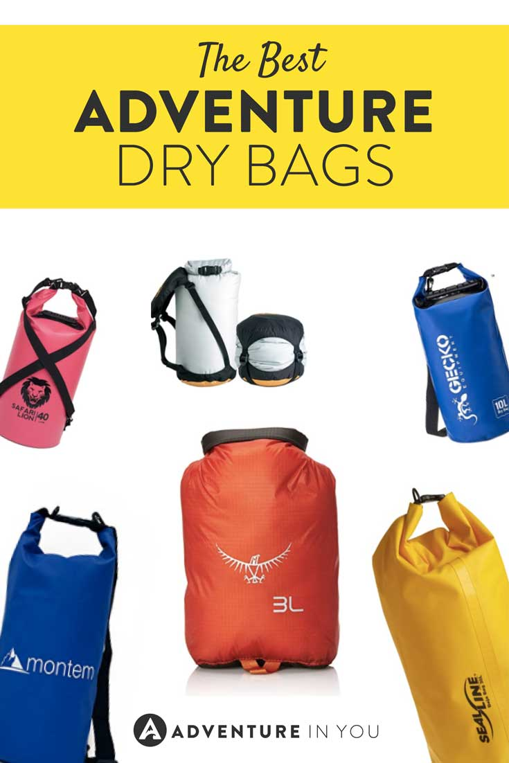 Dry Bags | Looking for strong and sturdy travel gear and products? Take a look at out top picks for the best dry bags for adventure