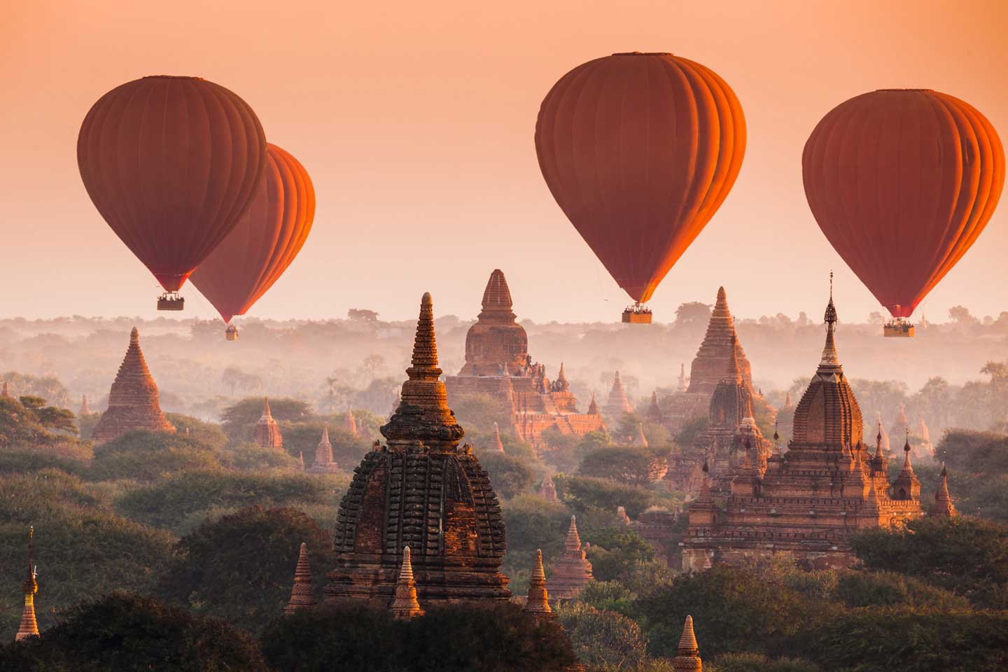 hot air baloon bagan