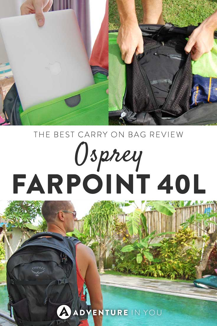 Osprey Bag Review | The Osprey Farpoint is by far one of the best carry on bags we've ever found. They are durable, handy, and very well made. Click the article to read the full review.