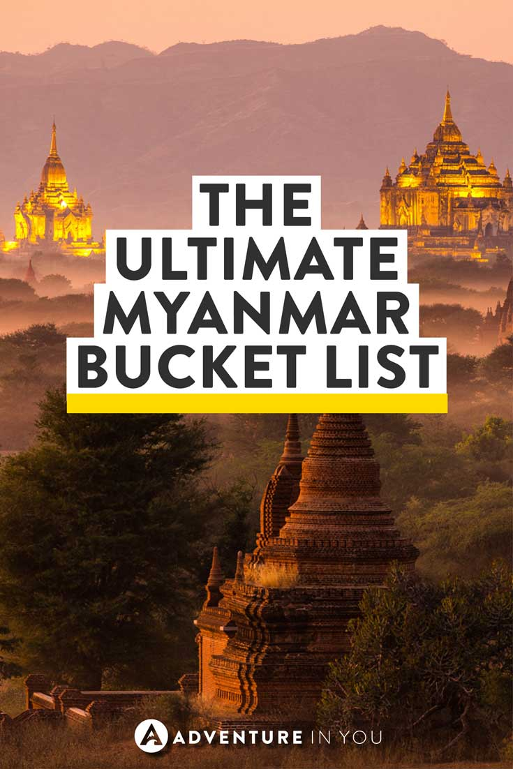 Myanmar Travel | Planning a trip to Myanmar? Here is our Myanmar bucket list guide with tips on the best things to see and do in each area.