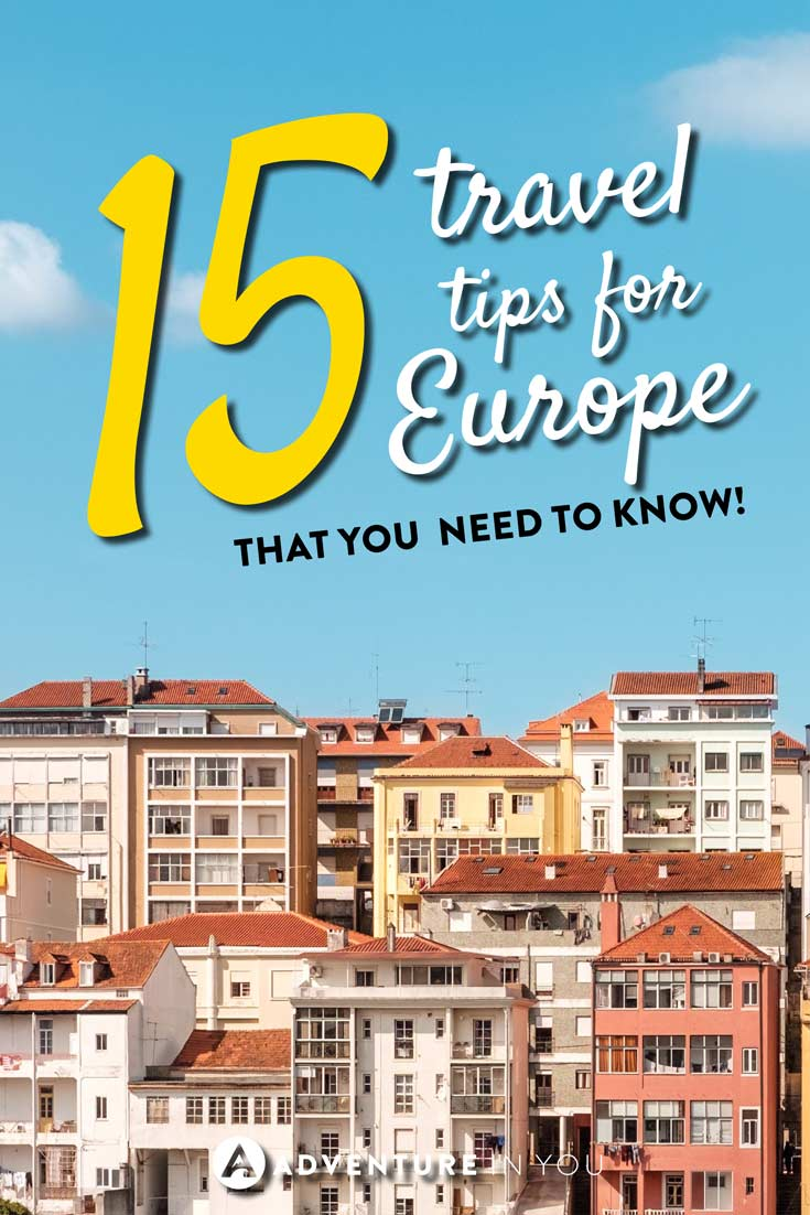 Europe Tips | Looking for tips for traveling Europe? Here are a few of our top recommendations on how to travel Europe like a pro.