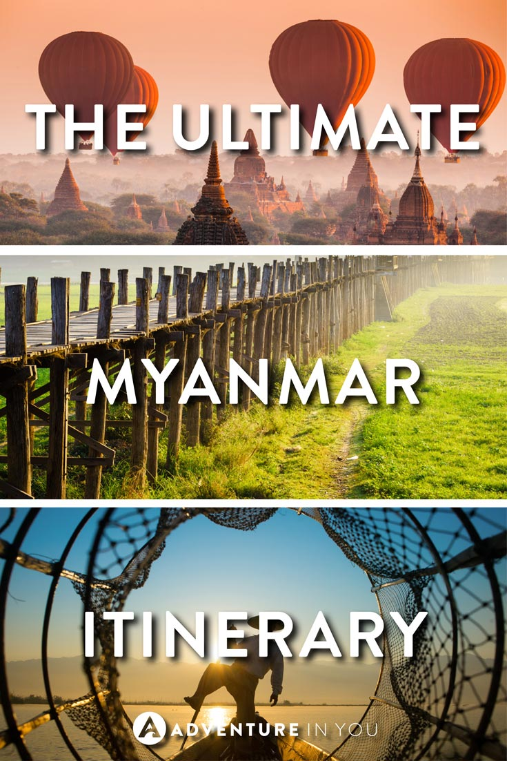 Myanmar Itinerary | Looking for a sample Myanmar itinerary? Take a look at this epic two week itinerary which takes you through the best of Myanmar.