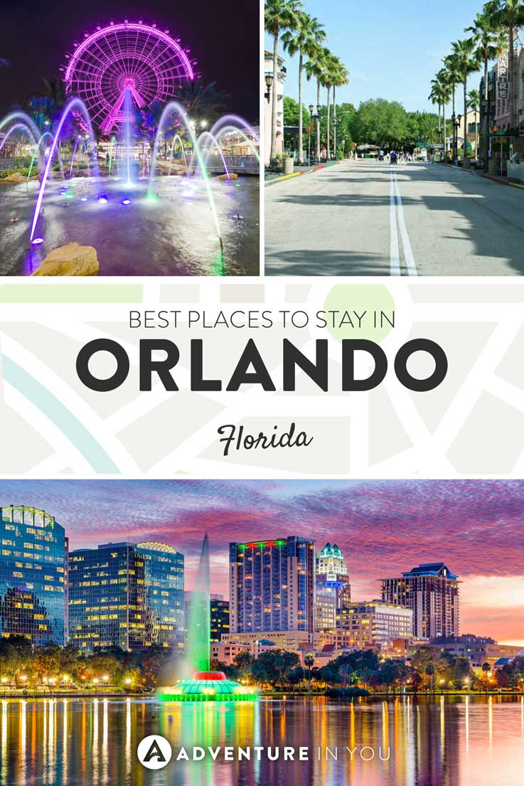 Orlando Florida | Looking for where to stay in Orlando? Here are a fwe of our top recommendations for places outside Disney World and Universal Studios as well as hotels inside the theme parks themselves.