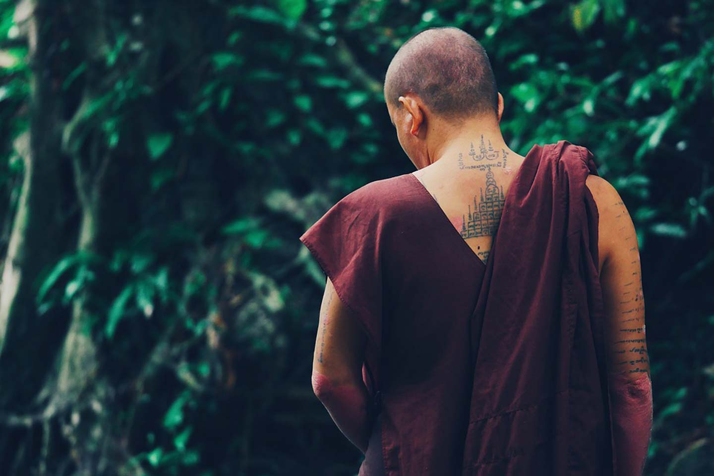 sak yant monk