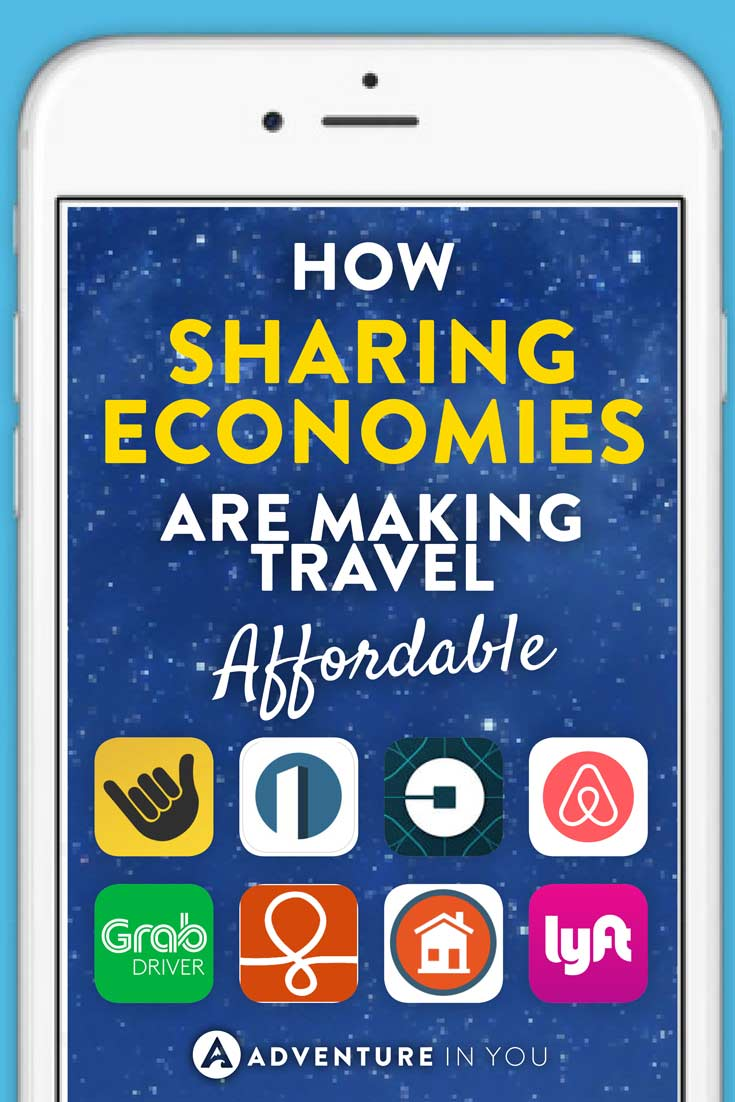 Travel Apps | Ever wondered how the sharing economy has changed the way we travel? Through platforms like uber, airbnb, and loads of other sharing platforms have made travel cheaper and more accessible to many