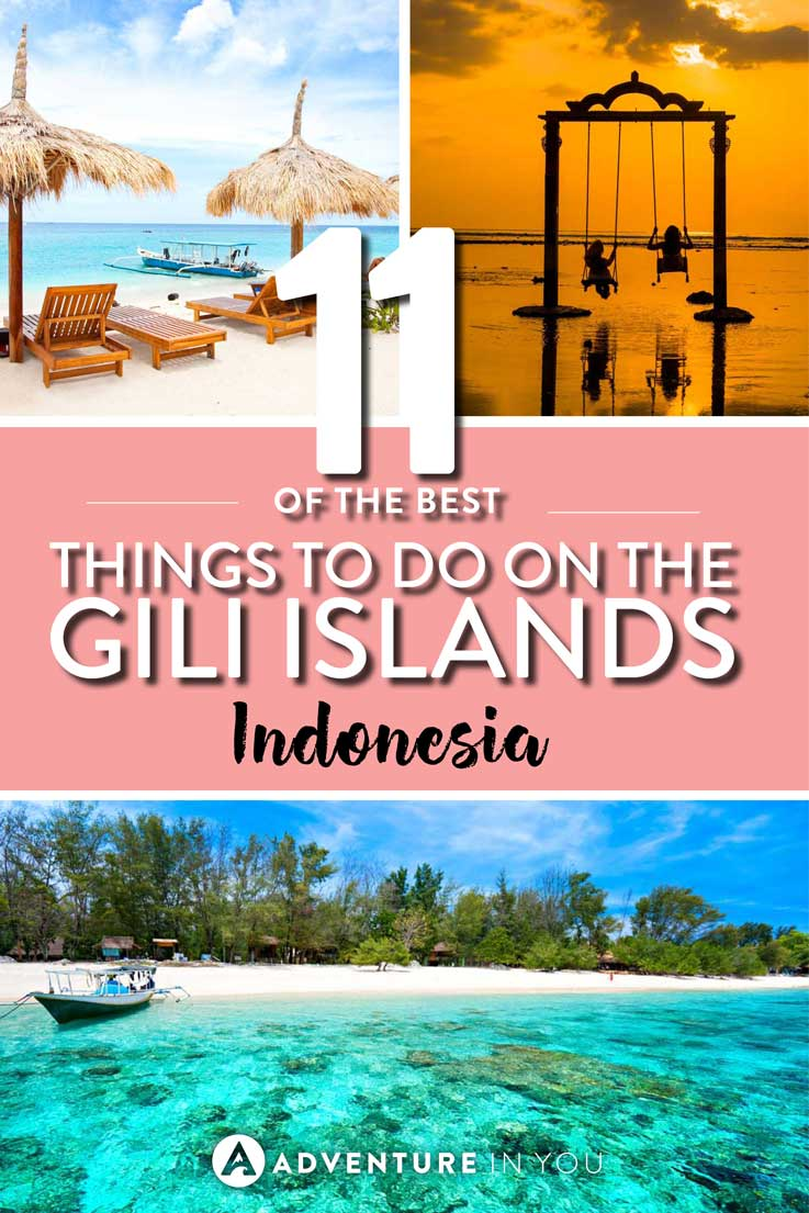 Gili Islands | Looking for the best things to do on the Gili Islands in indonesia? Here is our complete guide with information on what to do, where to stay, and even where to eat.