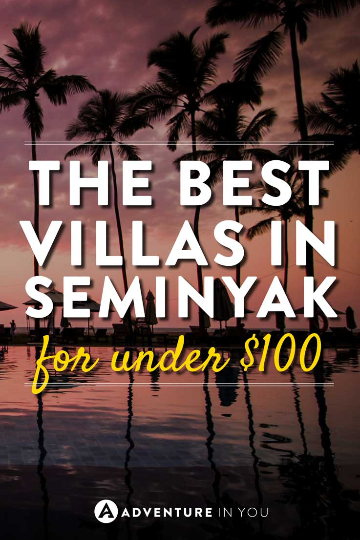 Seminyak Bali | Looking for ideas on where to stay in Seminyak? Here is our guide on the best private villas in Bali, all for $100 or less! #Bali #SeminyakVillas