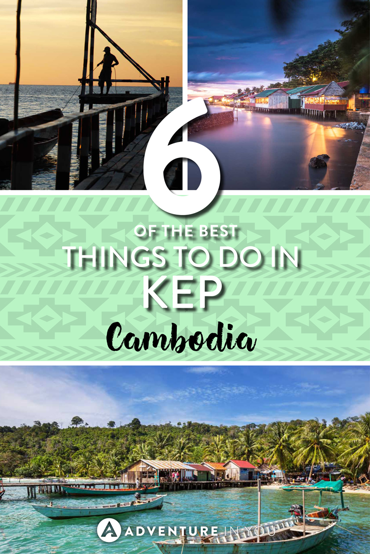 Kep Cambodia | Planning to travel around Cambodia? Don't miss out on a visit to Kep. Here are our recommendations on the best things to do in Kep, Cambodia. From eating Kep crab to going on hikes, Kep is full of awesome things to do.