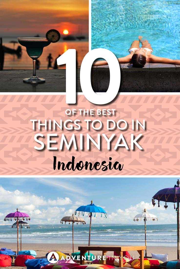 Seminyak Bali | Planning a trip to Seminyak, Bali? Here's a list of our recommended things to do in Seminyak list. From surfing, partying in the hottest clubs, to eating in the best restaurants, Seminyak is one of the best destinations in Bali.