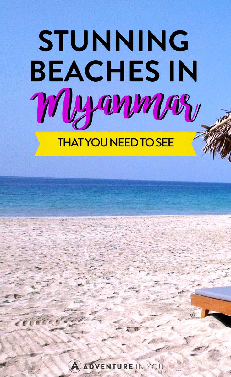 Myanmar | Traveling to Myanmar? Here's my guide on the best beaches in Myanmar that you have to see.