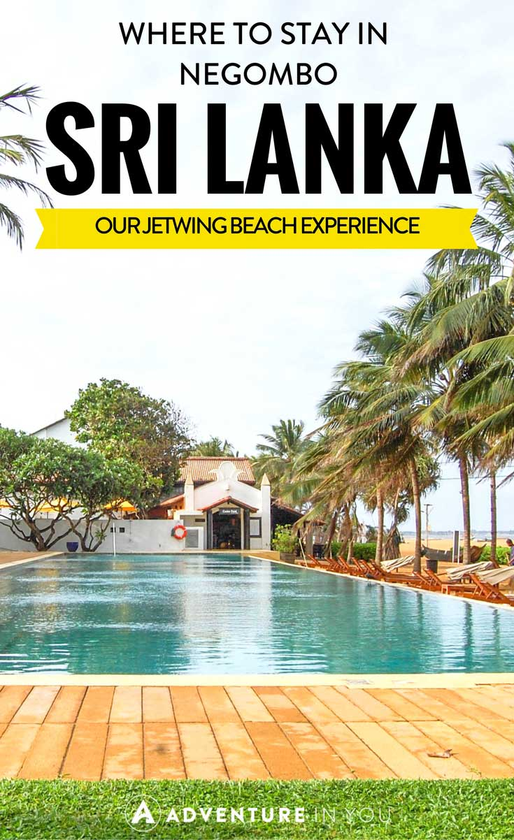 Negombo Hotels | Looking for a great place to stay in Sri Lanka? Our stay at Jetwing Beach was everything we needed and more. Located near Negombo Airport it was the perfect place to stay and relax as you fly in and out of Sri Lanka