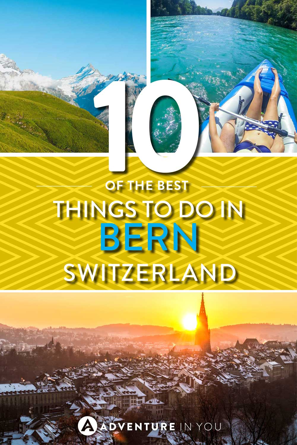 Bern Switzerland | Looking for things to do in Bern? Check out our full post on the best things to do in this beautiful city. From climbing mountains to going on day trips, Bern is full of many awesome sights.