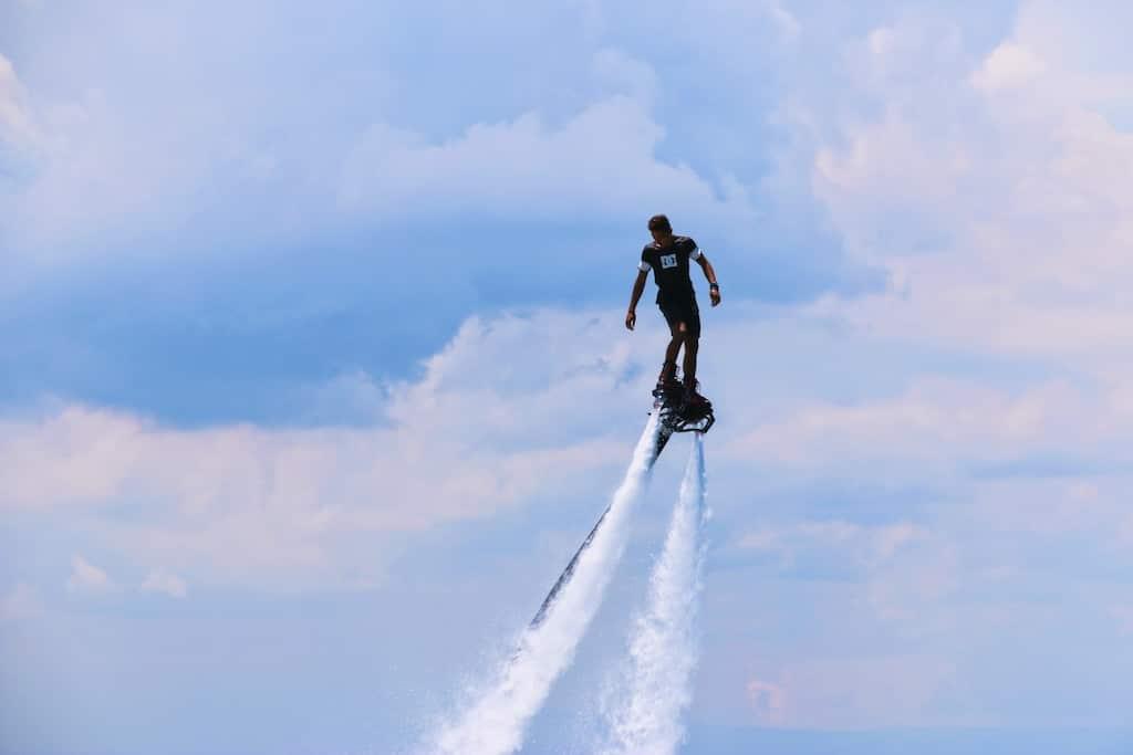 flyboarding bali