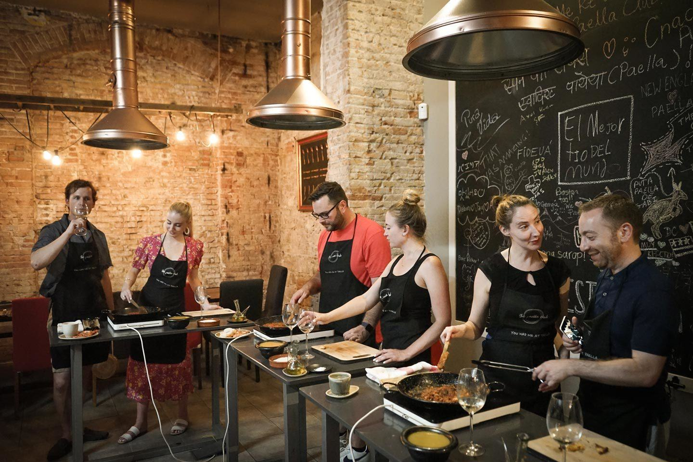 paella class the paella club
