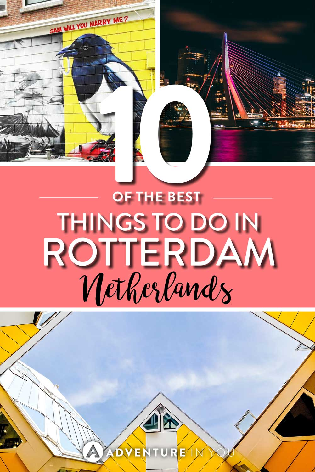 Rotterdam Netherlands | Looking for inspiration on the best things to do in Rotterdam? Our local guide gives us tips on the best things to see, where to eat, and the best attractions to see.