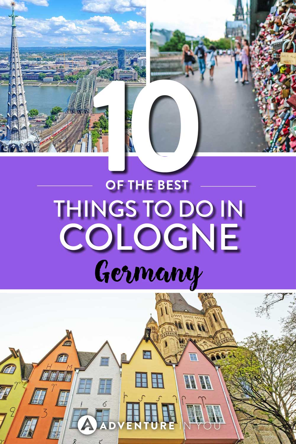 Cologne Germany | Looking to visit Cologne Germany? Check out my guide to seeing the best of this city. From beer breweries, chocolate factories, and popular buildings, Cologne has a lot to offer for tourists looking to explore.