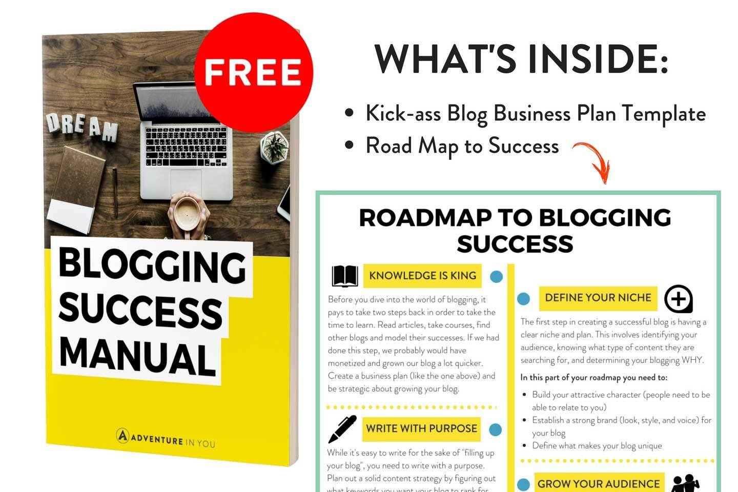 blogging success manual